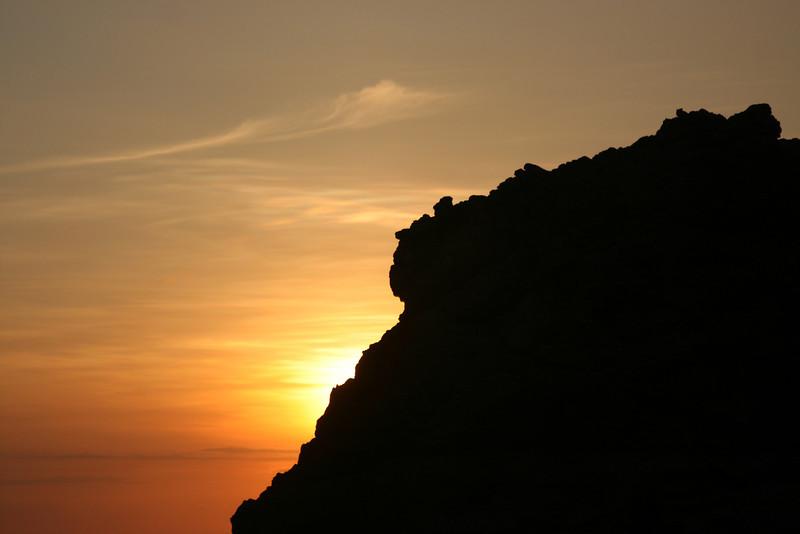 """Cliffside Sunset"" #01"