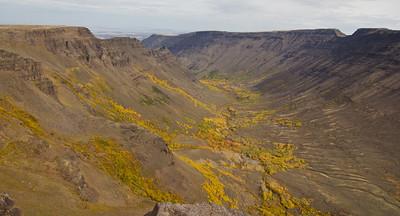 Kiger Gorge on Steens Mountain Oregon