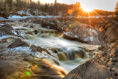 Spring Thaw at Jay Cooke State Park