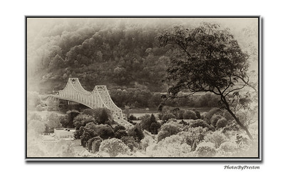 The Sewickley Bridge In Pa