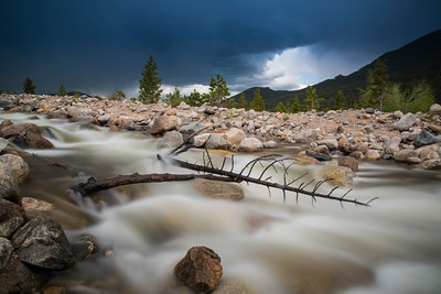 Alluvial Fan | Rocky Mountain National Park