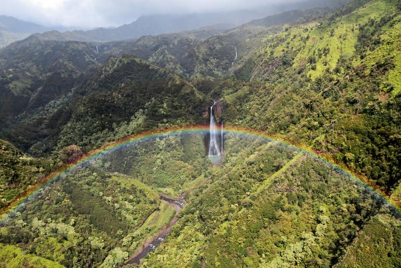 Jurassic Rainbow Falls