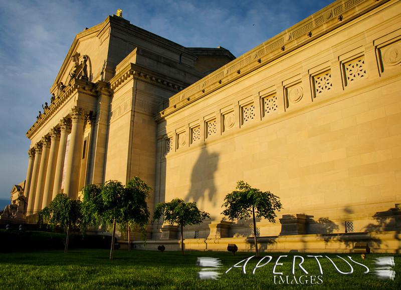 """Morning Sun"": Taken in St. Louis at the St. Louis Art Museum (2013)"