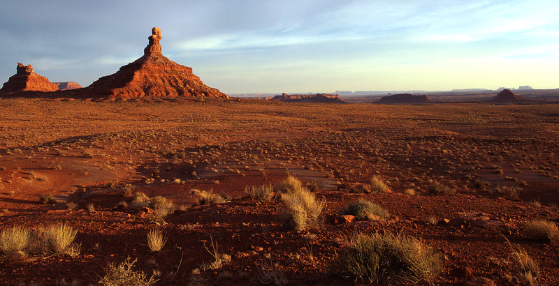 Valley of the Gods, shot during God's golden hour
