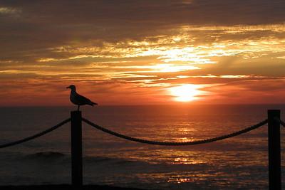 Sunset at Depoe Bay  on the Oregon Coast