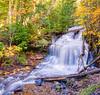 Wagner Falls in Fall