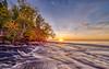 Huricane River Sunset