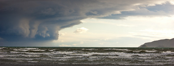 Southerly Storm, Paraparaumu, Wellington, New Zealand
