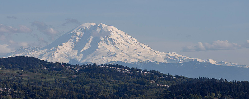 Mt. Ranier<br /> from Bellevue, WA