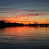 Folly Beach Marina Sunset in Charleston SC