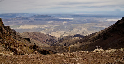 Lookng East From Steens Mountain Oregon