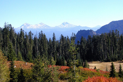 Fall on the Three Sisters in Oregon