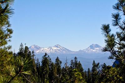 Three Sisters in Oregon