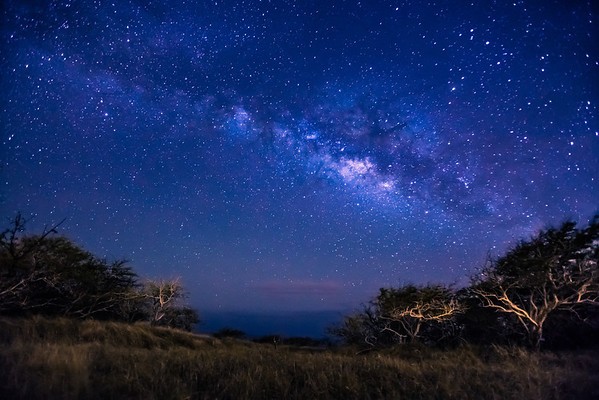Milky Way from Oahu