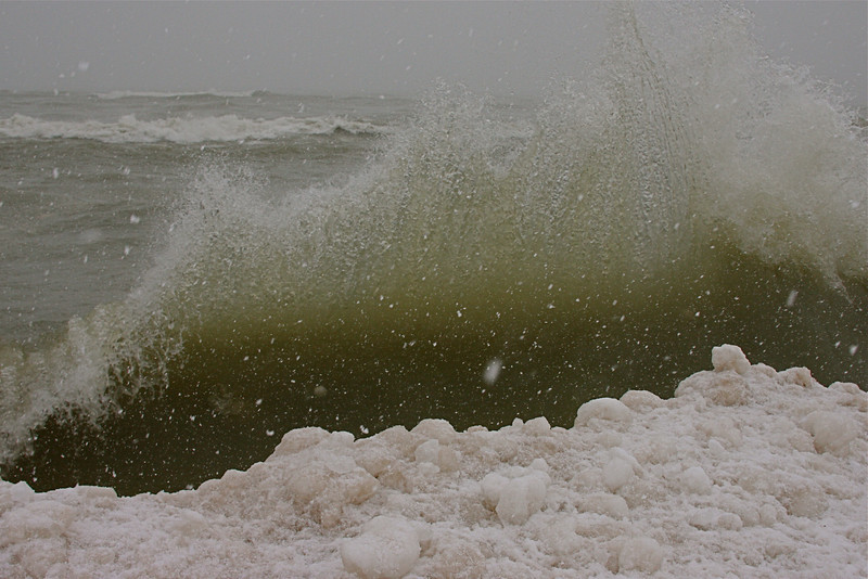 Wave Wall Crashing