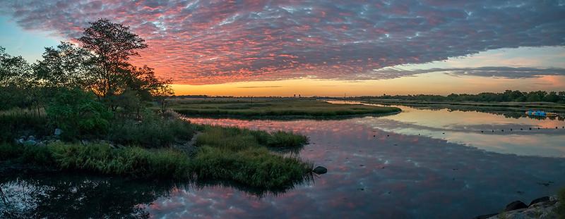 Salt Marsh Nature Center at Sunrise