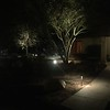Really makes a huge difference with some lighting in the yard. Our neighborhood is pretty dark. The lighting is all LED, so it is very low wattage.