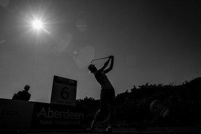 Olafia Kristinsdottir of Iceland during the practice round