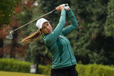 Whitney Hillier of Australia during a practice round