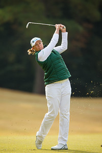 Katherine Kirk of Australia during the pro-am
