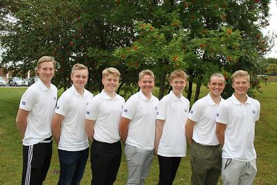 Kristján Benedikt Sveinssson (GA), Daníel Ísak Steinarsson (GK), Ingvar Andri Magnússon (GR), Viktor Ingi Einarsson (GR), Dagbjartur Sigurbrandsson (GR), Ragnar Már Ríkharðsson (GM), Arnór Snær Guðmundsson (GHD).