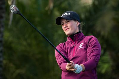 Gudrun Bjorgvinsdottir of Iceland during the final round