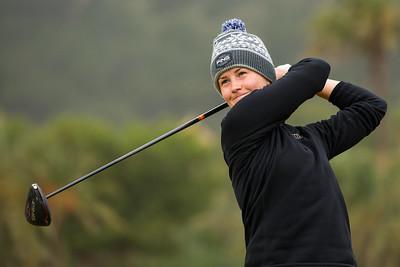 Gudrun Bjorgvinsdottir of Iceland during the third round