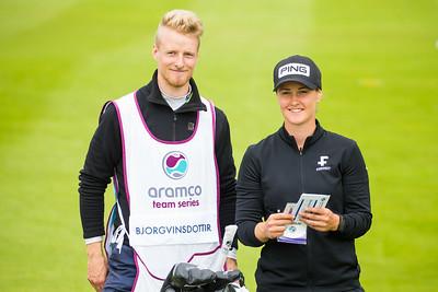 Gudrun Bjorgvinsdottir of Iceland during the first round
