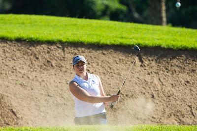 Valdis Jonsdottir of Iceland during the second round