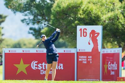 Valdis Jonsdottir of Iceland during the third round