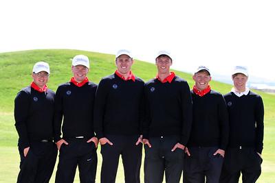 Em karla 2011, frá vinstri, Guðjón Henning Hilmarsson, Ólafur Björn Loftsson, Alfreð Brynjar Kristinsson, Axel Bóasson, Arnar Snær Hákonarsson og Guðmundur Ágúst Kristjánsson.