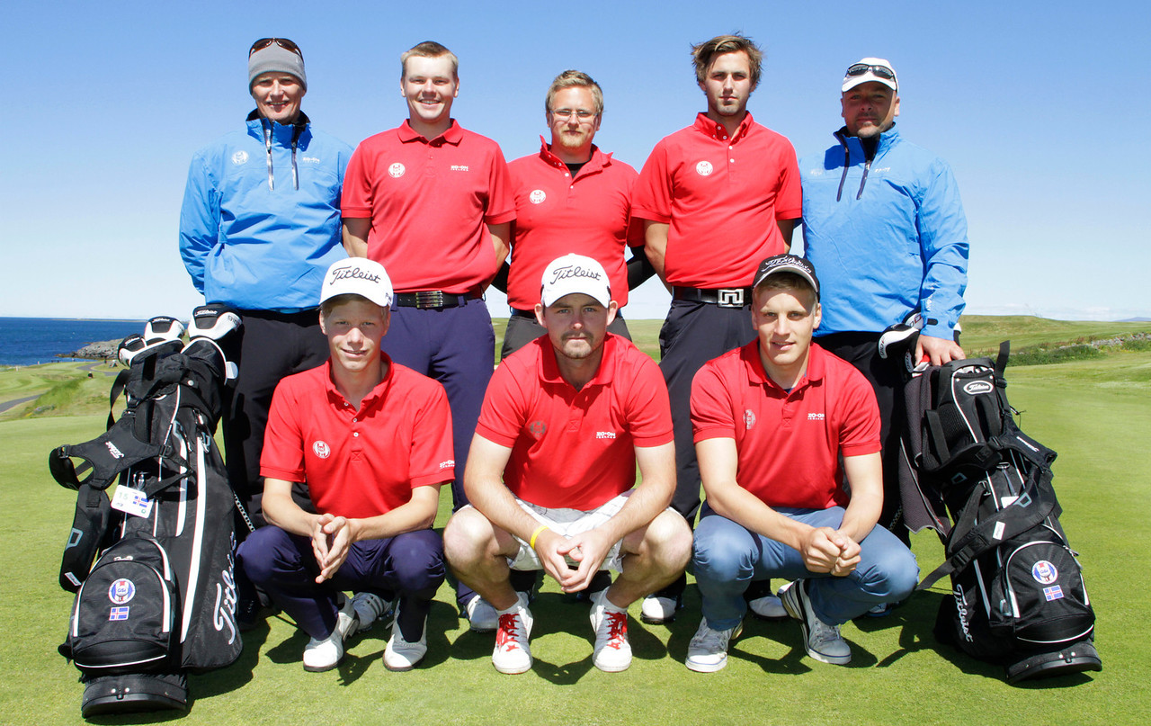 Team Iceland on Practice day