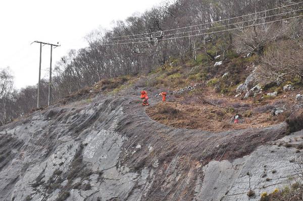 Landslides - Skye