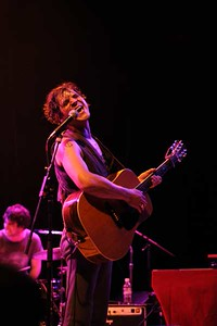 Langhorne Slim brought his foot-stomping road show to the Fox Theatre in July 2011. Photos by Brittany Moore, heyreverb.com.