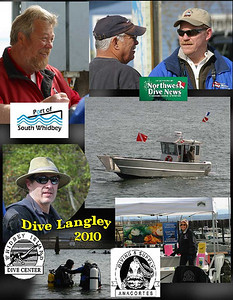 Sponsors of the first annual Dive Langley Day.  April 10, 2010