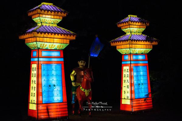La magie des lanternes, Montreal 2012