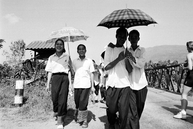 umbrella boys and girls