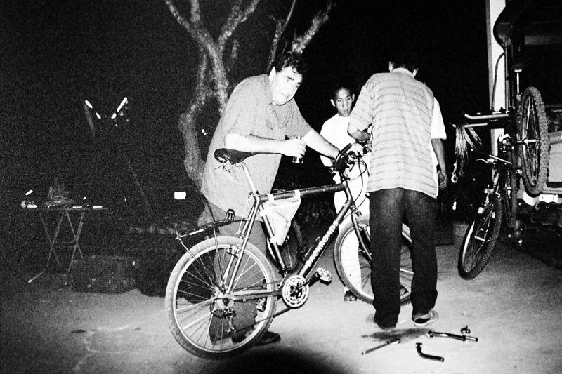 Jim bike fitting