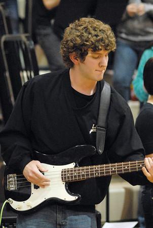 Lapel Pep Band.