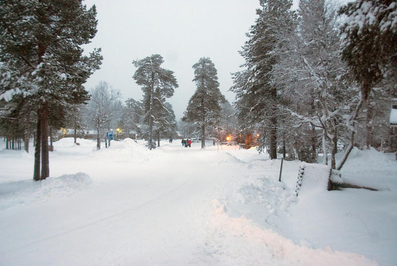 A vacation rental community in Saariselkä, Finnish Lapland.