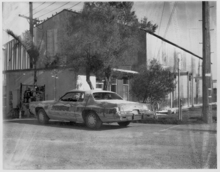 Sausalito, 2008. Shot on 40 year old Polaroid type 55 film.