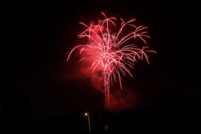 Las Cruces Fireworks - 7/4/2013