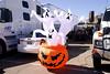 Pro mod racer Scott Ray's Halloween display