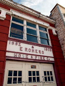 """E Romero Hose & Fire Co.""  Las Vegas, New Mexico"