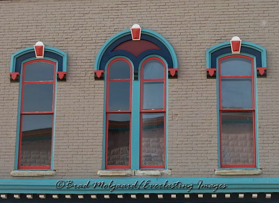 """Bright Vintage Windows""  Las Vegas, New Mexico"