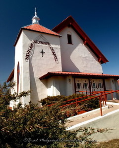 Newman St. Paul's Chapel-Las Vegas, New Mexico.  Although currently owned by the Catholic Church, this building was the first Jewish synagogue of New Mexico, established in 1884 under the leadership of Charles Ilfeld, an early Jewish businessman of Las Vegas, NM.