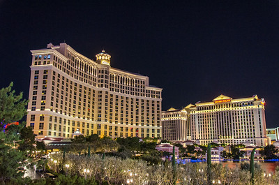 Bellagio and Caesars Palace