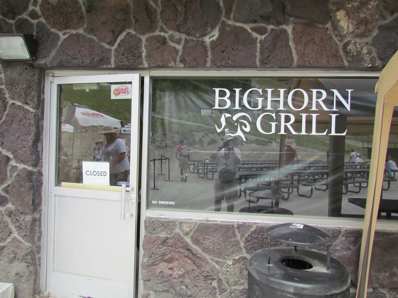 The Grill is being renovated for the winter crowd.