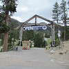 The entrance to the ski center.  The base lodge here is at an elevation of 8,510 feet.