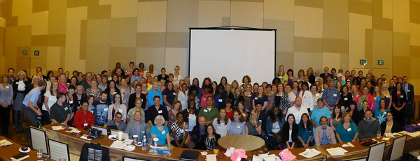 Group shot of attendees at the conference.